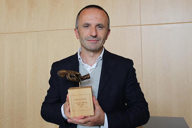 Fabrizio Gatti, PRO ASYL-Preisträger 2014
