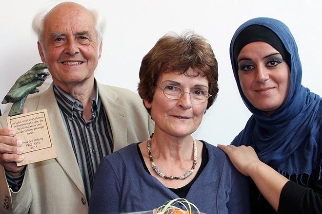 Ehepaar Harms - PRO ASYL-Preisträger 2013