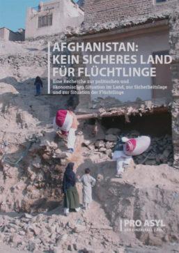 Afghanistan: Kein sicheres Land für Flüchtlinge