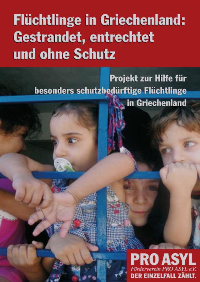PRO_ASYL_Broschuere_Fluechtlinge_in_Griechenland_Februar_2010_Cover