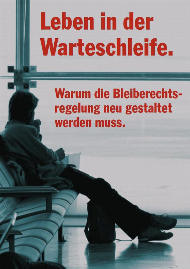 PRO_ASYL_Faltblatt_Leben_in_der_Warteschleife_Mai_2010_Cover