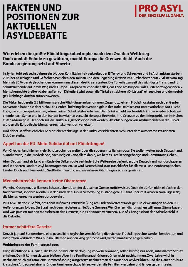 PRO_ASYL_Faltblatt_Positionen_zur_Asyldebatte_Februar_2016_Cover