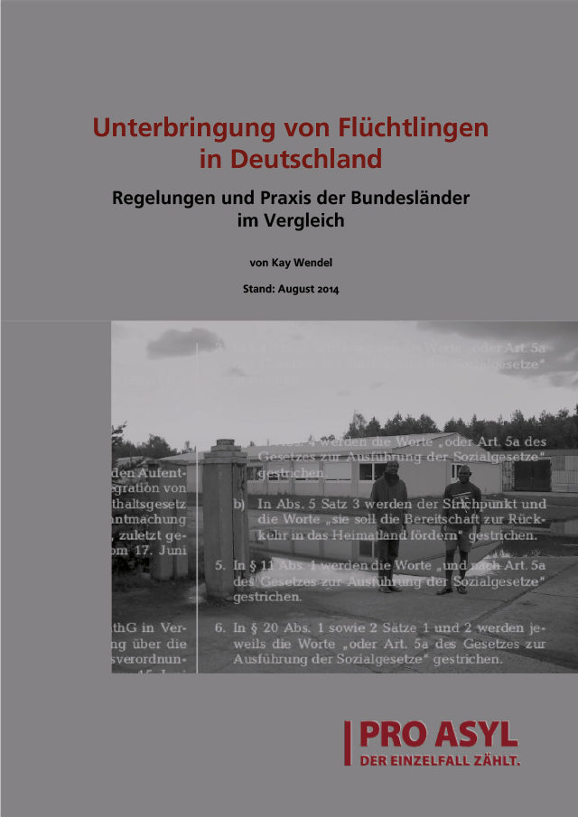PRO_ASYL_Studie_Laendervergleich_Unterbringung_Fluechtlinge_September_2014