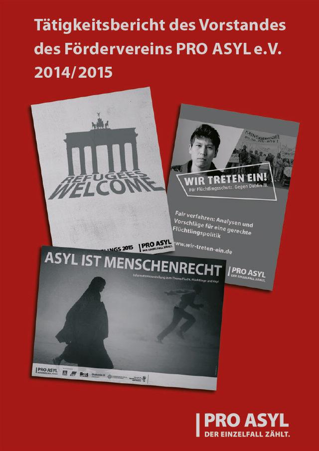 PRO_ASYL_Taetigkeitsbericht_2014-2015_MaterialCover