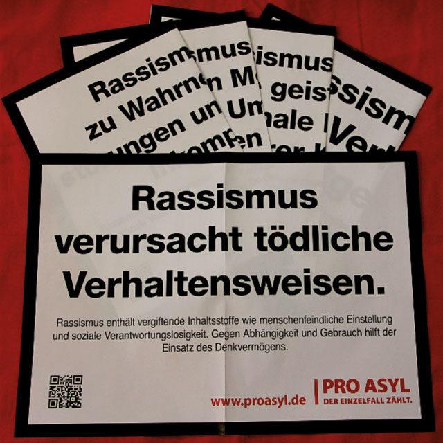 Plakatset Warnhinweise