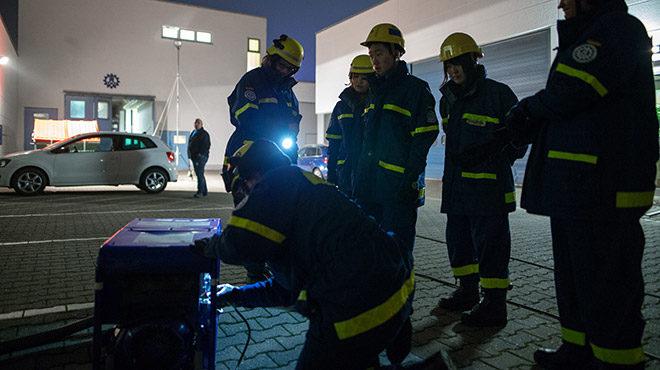 Bild: Ausbildungs- und Schulungssituation bei de Feuerwehr