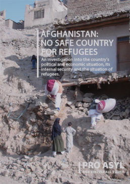 Afghanistan: No safe place for Refugees