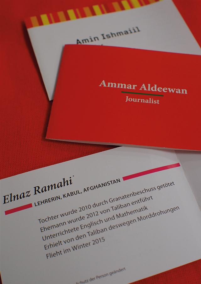 Visitenkarten Set Einzelfälle Pro Asyl