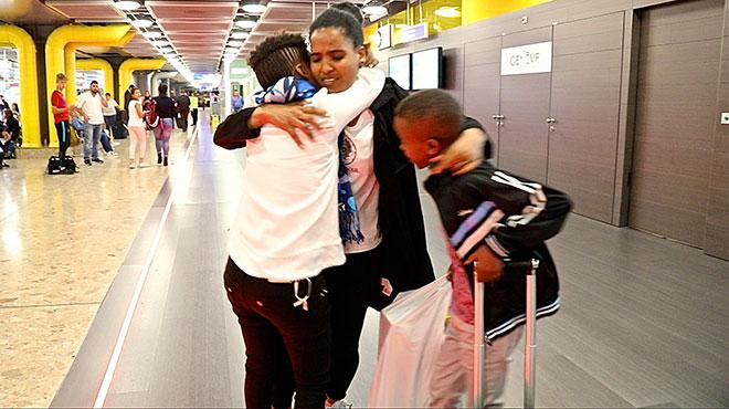 Familiennachzug erfolgreich: Familie aus Eritrea wiedervereint