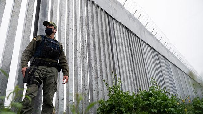 Grenzmauer in der Evros-Region