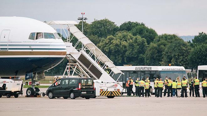 Abschiebung nach Afghanistan vom Flughafen Hannover im Juli 2021.