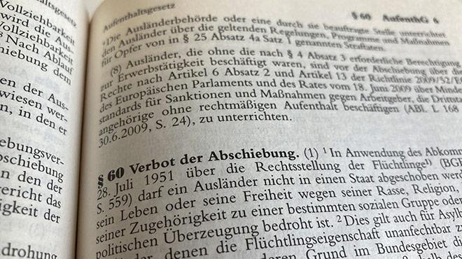 §60 im Aufenthaltsgesetz