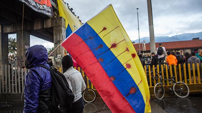Protes tin Bogotà, Mai 2021