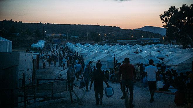 Zeltlager Moria 2 / Kara Tepe auf Lesbos