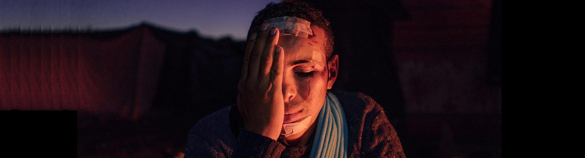 Geflüchteter nach brutalem Pushback an der kroatisch-bosnischen Grenze